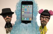 De blauwe Meth troon Charging dock voor iphone / Android