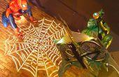 Levensgrote Spider-Man thema Halloween Display