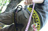 DIY harnas voor klimmen