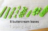 DIY blad leidingen tip & 8 botterroom bladeren