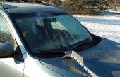 Hoe aan te scherpen een Windshield Ice schraper