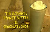 De ultieme pindakaas & chocolade Shot