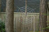 Kralen van Spider Web tuin Art