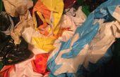 Hoe te vouwen van een plastic zak