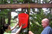 9-stap Rube Goldberg-stijl Ice Bucket Challenge