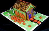 Pumpkin Spice brood Halloween huis
