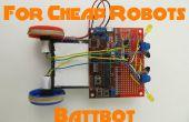Meer Chassis voor goedkope Robots 1: Battbot