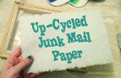 Up-cyclus troeppost in ambachtelijke papier