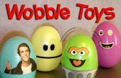 Maak uw eigen ei tuimelaar wiebelen speelgoed
