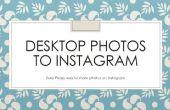 Downloaden van foto's van de Desktop naar Instagram
