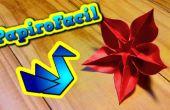 Hoe maak je een ster bloem origami