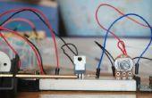 Arduino DC motor snelheid controle potentiometer