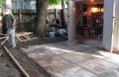 Hoe maak je een mooie cement patio