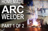 Het maken van een ARC-lasser - deel 1 van 2