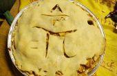 Toni's taart voor de afleiding van Pi