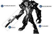 Felle Worgen / Werewolf Hunter (Ranger) kostuum voor Boy