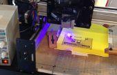 CNC Laser voor afbeeldingen afdrukken en gravure - Shapeoko 2 gebaseerd