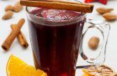 Gekruide warme wijn