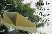Hoe maak je een 'Stunt zweefvliegtuig'