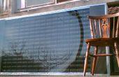 DIY Solar Panels - luchtverwarmers gemaakt van pop blikken