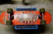 Terugvorderen van een oude skateboard