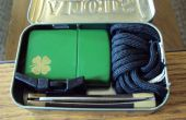 """paracord te gaan"" Altoids kit"
