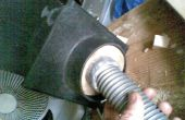 Stof verwijderen van elektrisch gereedschap tot stof extractor