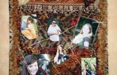 Wild kern-foto Collage muur opknoping