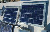 DIY Solar panels voor RV of raster uit