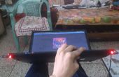 Mod Laptop met muziek reactieve LEDs