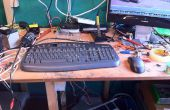 Super condensator toetsenbord mod