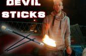 Brand duivel Sticks - maken, spelen, branden!