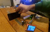 Afstand meten met 2,4 ftf en ultrasone sensor
