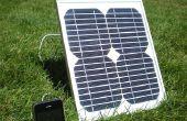 Hoe bouwde ik een zonne-energie iPhone Charger voor onder $50.
