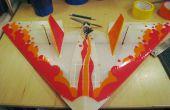 Styling een Mugi Coroplast RC vliegtuig