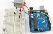 Arduio Dc motor snelheid controle seriële monitor... (geen l293d)