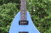 $150 aangepaste ergonomische gitaar