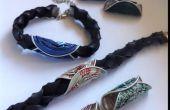 Hoe maak je een binnenband armband met verwisselbare kleuren