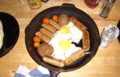 Een Pot Veggie Super zes ontbijt