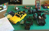 Hacken van een RC auto met Arduino en Android