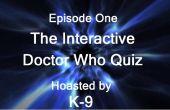 Interactieve Doctor Who Computer Quiz.