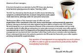 April Fools - McDonalds Fake koffie waarschuwing