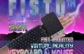 FISTO™ - de vuist gemonteerde Virtual Reality toetsenbord & muis