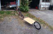 DIY één wiel fiets aanhangwagen makkelijk