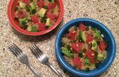 Warm Quinoa salade van Avocado Citrus