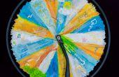 Inspirerende muze van het wiel van een fiets