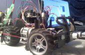 Arduino gecontroleerde auto met vermijding van de colission