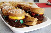 Zoete Hamburger Cupcakes en frietjes!