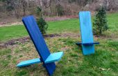 Viking stoel uit 4, 2x4s