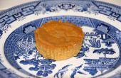 Gluten en zuivel-gratis - kleine korst-minder pompoen taarten
